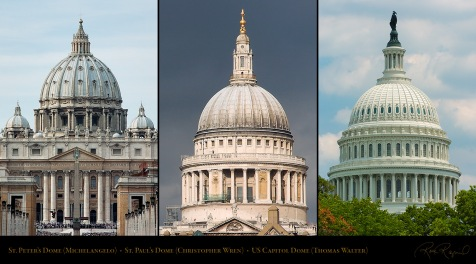 St. Paul's Cathedral from Millenium Bridge, Ludgate Hill, London, England, UK
