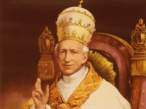 Local Input~ 1878 -- Authentic portrait of Pope Leo XIII from the Vatican album of the Ecumenical Council. Wikipedia / Library of Congress