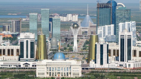 Astana - The world's weirdest capital city
