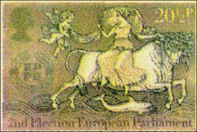 european_stamp-woman_riding_beast