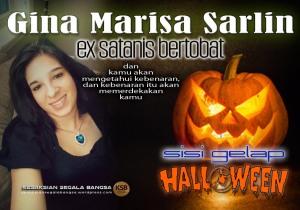 Gina Marisa Sarlin (ex satanis) - bicara soal Hallowen_JPG