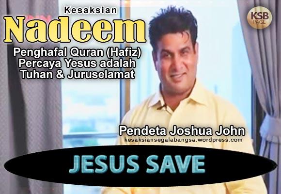Spektakuler a Penghafal Quran Hafiz Percaya Yesus Tuhan