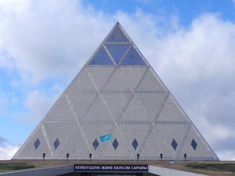Palace of Peace and Reconciliation. Astana, Kazakhstan