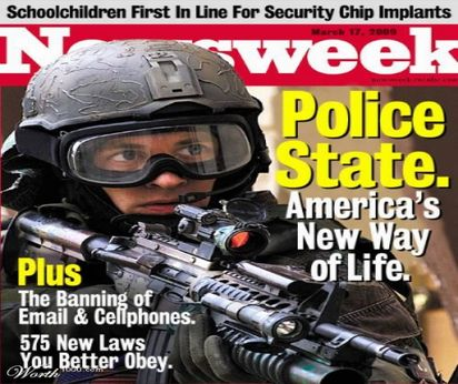 NEWSWEEK-ANNOUNCES-POLICE-STATE